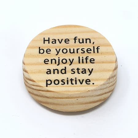 Fridgemagnet positive vibes